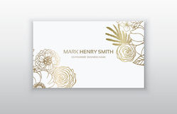 Set of business card with floral arabic ornament. Floral vintage business card. Invitation or announcement vector illustration