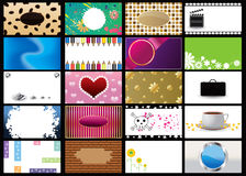 Set of  business card vector Stock Photo