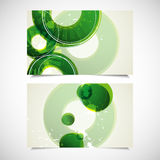 Set of business cards Stock Photography