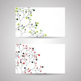 Set of business cards. Stock Photo