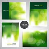 Set of Business Cards or Gift Cards. Illustration stock illustration