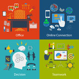 Set of Business designs Stock Photo
