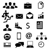 Set of business icon  Stock Photo