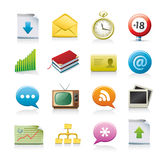 Set of business icons. Isolated on white background Stock Photo