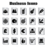 Set of business icons. Stock vector Stock Image
