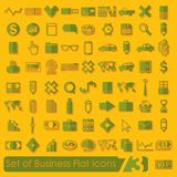 Set of business icons. It is a set of business icons Royalty Free Stock Photography