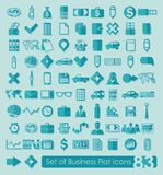 Set of business icons. It is a set of business icons Royalty Free Stock Images