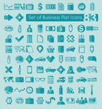Set of business icons. It is a Set of business icons Royalty Free Stock Image