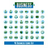 Set of 48 business icons and design elements for your project, v. Ector graphic design Royalty Free Stock Images