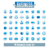 Set of 48 business icons and design elements for your project, v. Ector graphic design Royalty Free Stock Photos