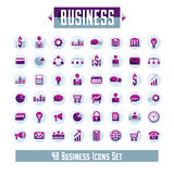 Set of 48 business icons and design elements for your project. Vector graphic design Royalty Free Stock Image