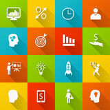 Set of business icons Royalty Free Stock Photo