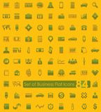 Set of business icons. Set of business flat icons for Web and Mobile Applications Royalty Free Stock Photography
