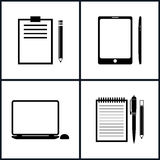 Set Business Icons Stock Images