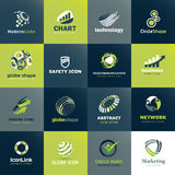 Set of business icons. Set of  icons for business and technology Stock Photography