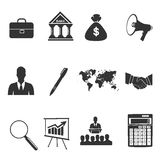 Set of business icons, vector Stock Photos