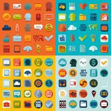 Set of business icons. It is a set of business vector web icons Royalty Free Stock Photography