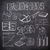 Set of business infographic elements. Stock Photography