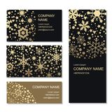 Set of business or invitation cards templates, corporate identit Royalty Free Stock Image