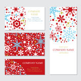 Set of business or invitation cards templates, Stock Images