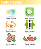 Set Business logo vector Royalty Free Stock Photo