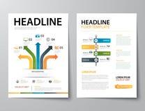 Set of business magazine cover , flyer, brochure flat design tem. Vector set of business magazine cover , flyer, brochure flat design templates vector illustration