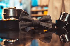 Set of business man's accessories Stock Images