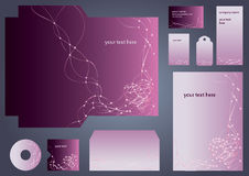 Set of business objects Royalty Free Stock Photography