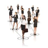 Set of business people Stock Photo