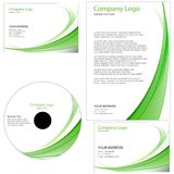 Set of business template Royalty Free Stock Photos