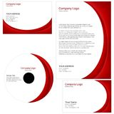 Set of business templates Royalty Free Stock Images