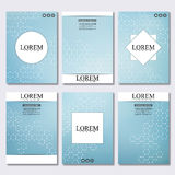 Set of business templates for brochure, flyer, cover magazine in A4 size. Stock Photography