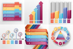 Set of business templates. Stock Photos