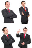 Set of   businessman Royalty Free Stock Image