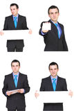 Set of businessman Stock Photo