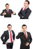 Set  businessman Stock Photography