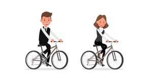 Set of Businessman and Businesswoman character vector design. no43. Set of Businessman and Businesswoman character vector design vector illustration