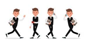 Set of Businessman character vector design. no20. Set of Businessman character vector design vector illustration