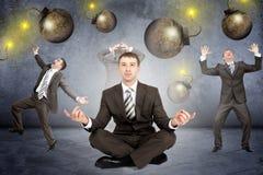 Set of businessmen Stock Photos