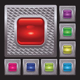 Set of button. For various design artwork Stock Photo
