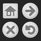 Set of button Stock Photo