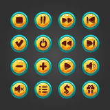 Set of  button for game design-1 Stock Photo
