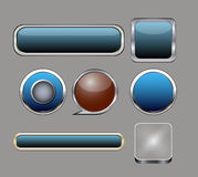 Set button Royalty Free Stock Photo
