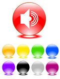 Set of buttons Stock Image