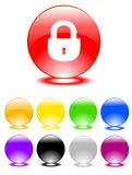 Set of buttons Royalty Free Stock Images