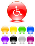 Set of buttons Royalty Free Stock Photo