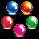 Set of buttons. Illustration for your design Royalty Free Stock Photos