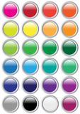Set of Buttons. Set of Web Buttons in many different colors / Vector vector illustration