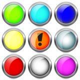 Set buttons. Stock Photos