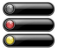 Set of buttons Royalty Free Stock Photography